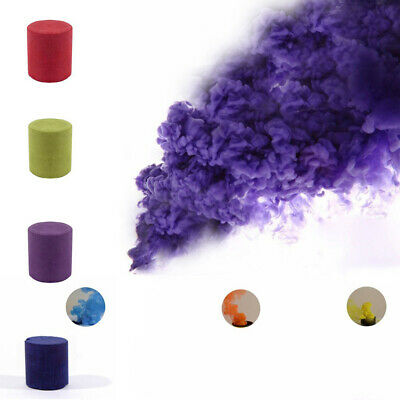 Colorful Smoke Cake Show Smoke Bomb Effect Maker Stage Studio Photography Props