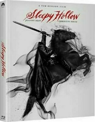 Sleepy Hollow DigiBook [Blu-ray] New and Factory Sealed!!