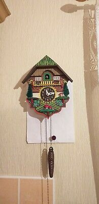 One weight  Wood  Cuckoo Clock in good working order