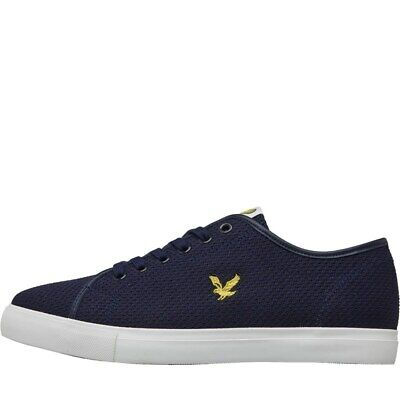 Lyle And Scott Vintage Mens Dunbar Trainers Navy, size 8(42)