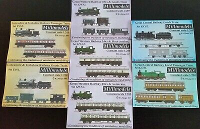 Set of 7 Millimodels