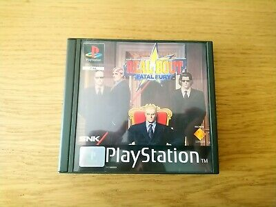 Sony Playstation PSX Real Bout Fatal Fury SNK Terry Bogard Garou Complete Rare