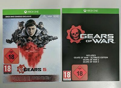 Gears of War Complete Series 1, 2, 3, 4 & 5 (Xbox One) - Full Game Download