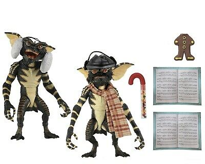"Gremlins – 7"" Scale Action Figure – Christmas Carol Winter Scene 2 Pack - NECA"