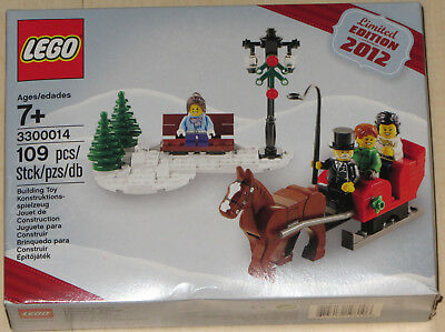 2012 LIMITED EDITION LEGO SEASONAL HOLIDAY CHRISTMAS SET 3300014 PROMO SET NEW