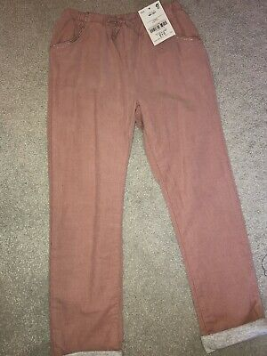Next girls pink trousers Brand New (Age 3-4)