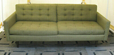 Excellent 84 Crate Barrel Petrie Couch Sofa Mid Century Modern Ocoug Best Dining Table And Chair Ideas Images Ocougorg