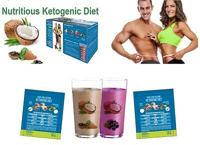 Ketogenic Diet Optimal Ketosis Weight Loss Shake Fat Burn Vlcd Meal Replacement
