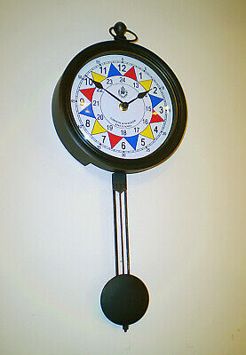 RAF Sector Clock WW2 Operations Room Battle of Britain, Pendulum Souvenir Clock