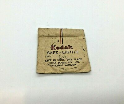Kodak Vintage/Antique Safe-Light Filter Type OA - NEW OLD STOCK
