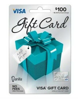 $100 Vanilla Gift Card Ready To Use
