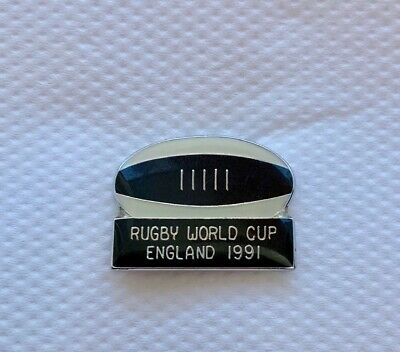 RARE + ORIGINAL 1991 Rugby World Cup Pin Badge - England v Australia RWC