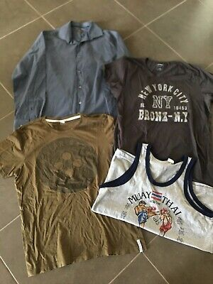 Variety Of Mens Tops - Size L - G-Star Raw Etc