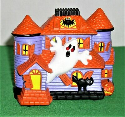 Makes Ghostly Eerie Sounds Battery Operated Haunted House