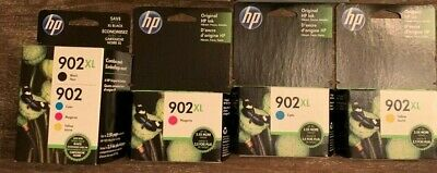 Original HP Ink - 902 XL Combo pack and 1 each 902 XL Magenta, Cyan and Yellow