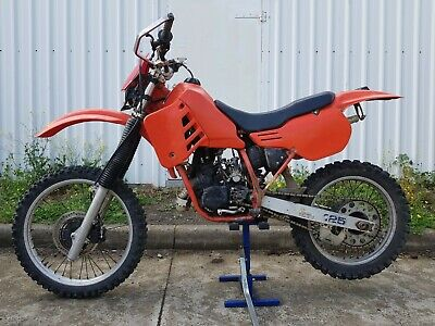HONDA CR125 1985 CR125R Motocross Vintage Motorcycle CR125RF 85 Project