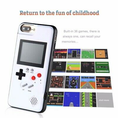 For iPhone 11 Pro Max Gameboy Phone Case 36 Retro Video Game Phone Cover Case US