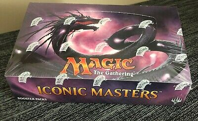Iconic Masters Booster Box - MTG Magic the Gathering - Factory Sealed New