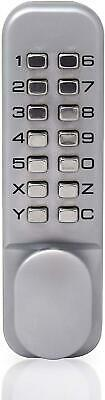 YALE Numeric Push Pad Security Door Lock Number Code Push Button Entry Chrome x1