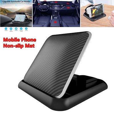 Car Truck Console Mobile Phone GPS Holder Mount Non-slip Mat Pad Stand Cradle