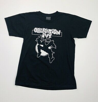 OPERATION IVY LOOKOUT RECORDS Vintage Tshirt Size S Single Stitch 90's Reprint