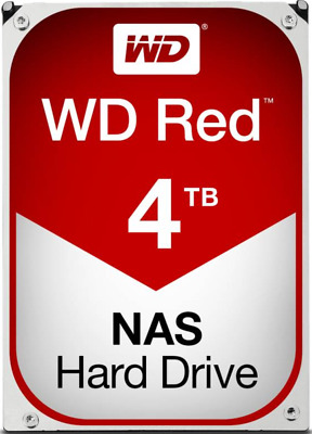 WD40EFRX 4TB Red. SATA Ill, lntelliPower. 64MB NAS HDD for 1 to 8 Bay NAS