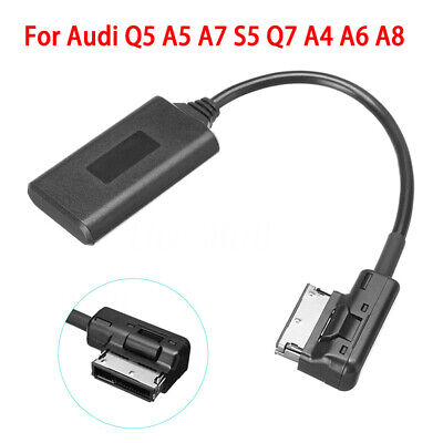 CA AMI MMI Bluetooth Adapter Audio AUX Cable For Audi Q5 A5 A7 R7 S5 Q7 A6L A8L