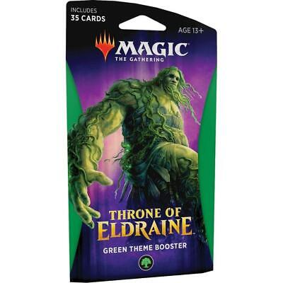 Magic: The Gathering - Throne of Eldraine Black Theme Booster - Green