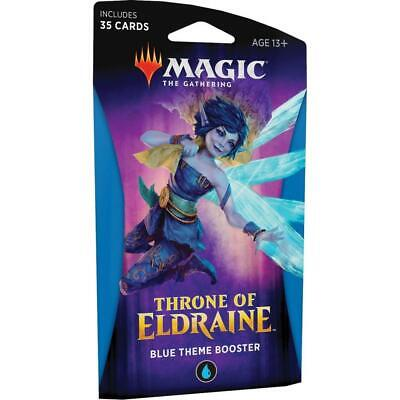 Magic: The Gathering - Throne of Eldraine Black Theme Booster - Blue