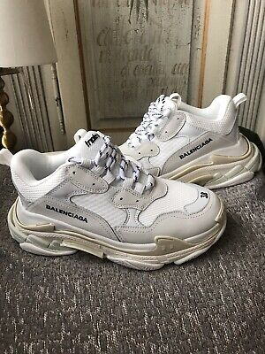 Retail Split Color Balenciaga Triple S to be used for comparison