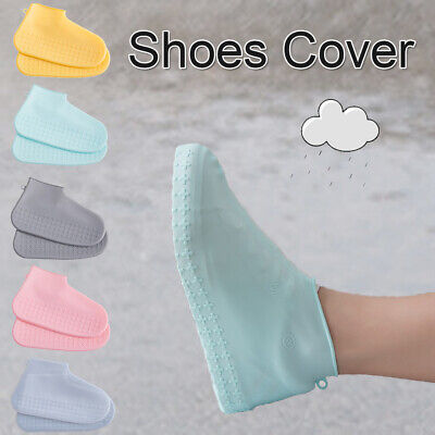 Rain Boots Waterproof Shoes Sleeve Rainproof Shoe Cover Silicone Overshoes