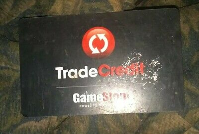 Game Stop * Used Collectible Trade Credit - Gift Card NO VALUE *
