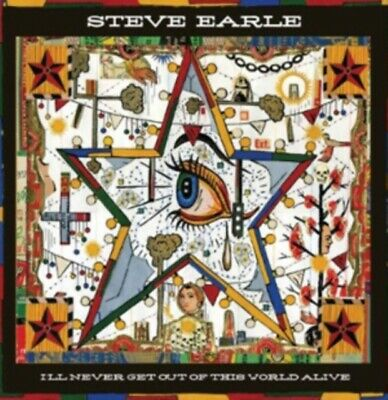 Steve Earle - I'll Never Get Out Of This Wor NEW CD/DVD