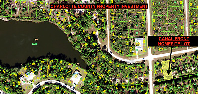 Charlotte County Florida, Homesite Lot With Owner Financing