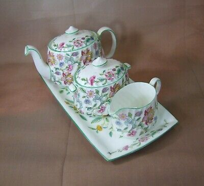 Minton Haddon Hall - 4 Piece Tea for Two TEA Service - Made in England