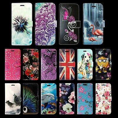 For Samsung Galaxy S10 Book Wallet Card Slots Protective Phone Fone Case Cover