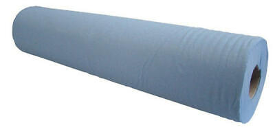 """2 Ply 20"""" Couch Rolls Blue Hygiene Roll Medical Dentist Beauty Massage Salon Bed"""