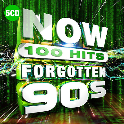 NOW 100 Hits Forgotten 90s - New 5CD Released 25/10/2019