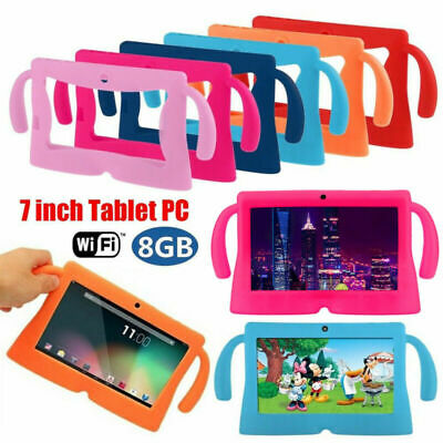 7 Inch Android Quad Core Dual Camera Tablet 8GB Bluetooth Wifi Tablet Kids Gifts