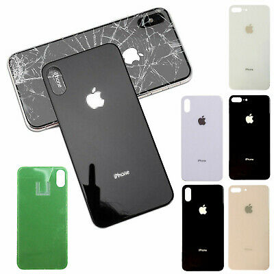 For iPhone 8 Plus X XR XS Max Battery Glass Cover Housing Back Door Replacement