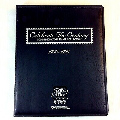Celebrate the Century Stamp Collection 1900-1999 US Postal Service Complete Book