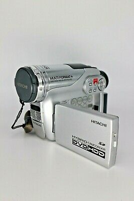 Hitachi Dvd Video Camera / Recorder With Built In DVD & Hard Disk Drive