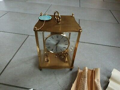Vintage Kundo 400 Day Anniversary Lantern Clock. German. Key, Papers.