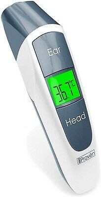 Best Digital Medical Thermometer for Fever - for Ear and Head - Highly Accurate