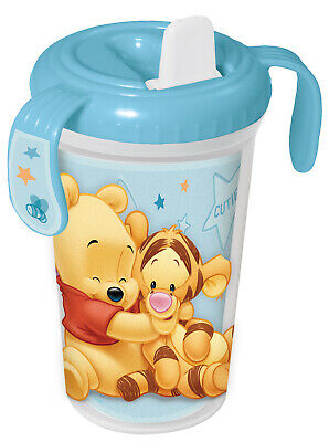 winnie the pooh cup and feeding set