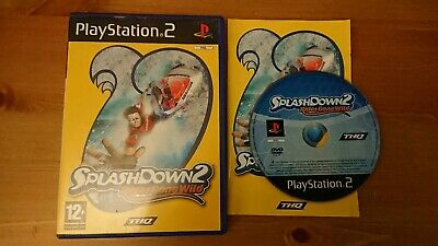 SPLASHDOWN 2 RIDES GONE WILD Sony Playstation 2 PS2 Game Complete RARE