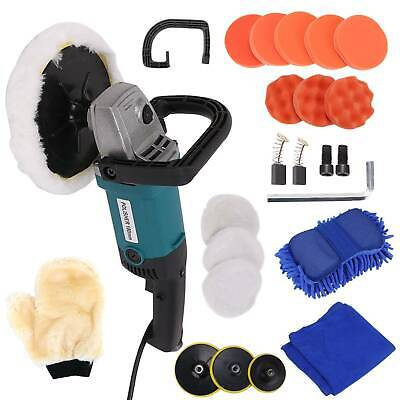 Polisher Car Sander Buffer Polishing Machine Kit 1200w Variable Speed+Sponge Kit
