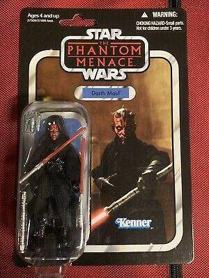 """Star Wars Vintage Collection Darth Maul figure carded 2012 3.75"""" VC86"""