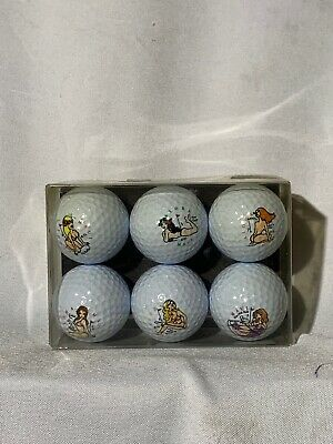 Pro Usa Girls Of Golf Collectors Edition Custom Golf Ball Set