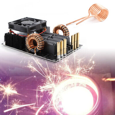 1KW High Voltage Generator High Frequency Low Voltage ZVS Induction Heater &Coil
